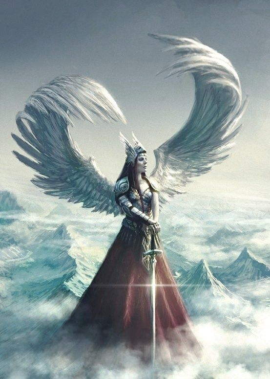 Valkyrie In Norse Mythology Are Hosts Of Female Figures Who Choose