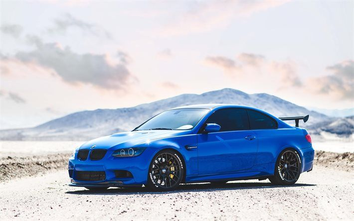 BMW M3, E92, Tuning, Blue M3, Sportcars, BMW