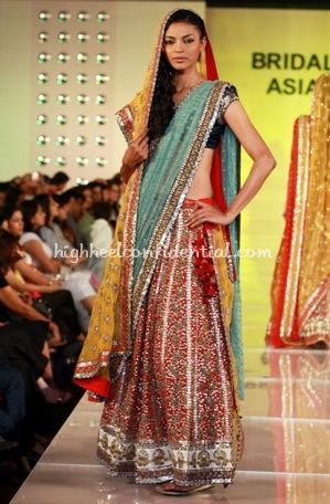 1 Sabyasachi Bridal Asia Show 20081 299x456 Not ByasachiIndian Theme Indian WeddingsBig Fat