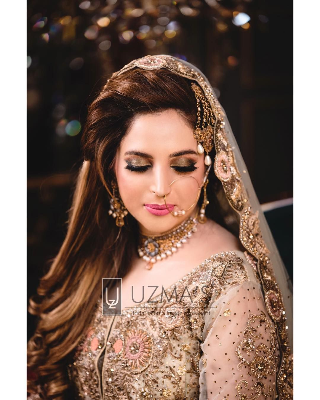 pakistani brides giving major bridal hairstyle goals