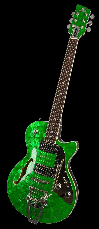 Starplayer Tv Duesenberg Guitars Emerald Green Duesenberg Guitar Guitar Acoustic Guitar