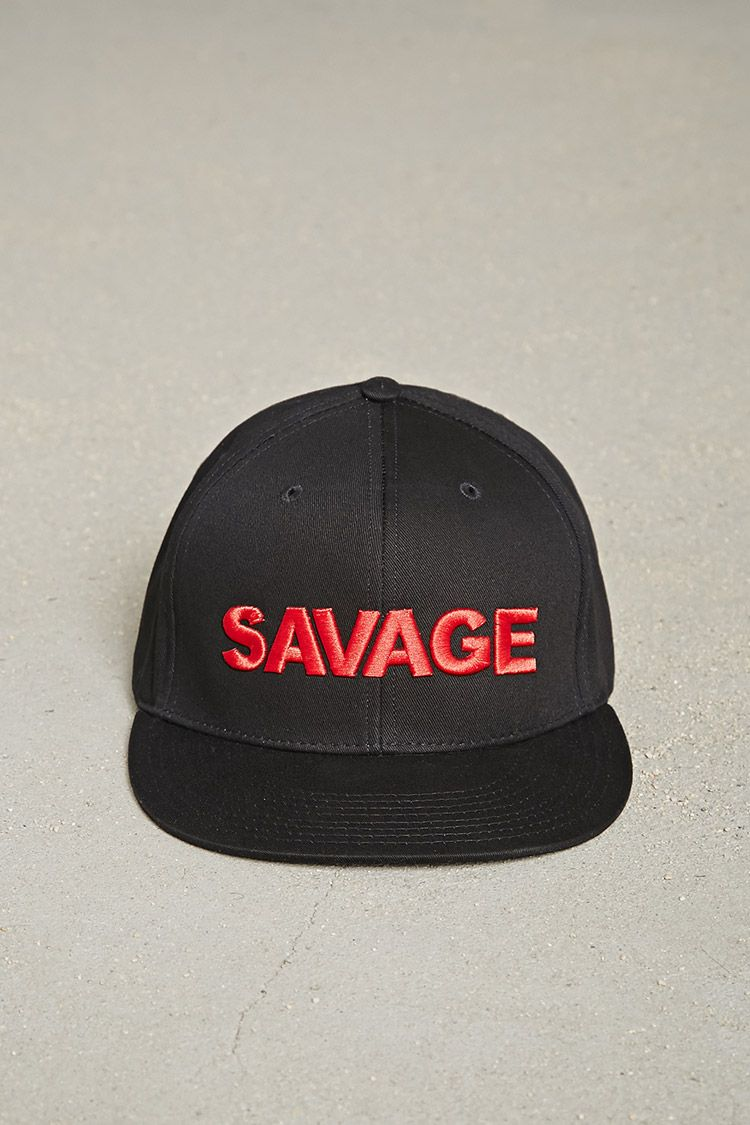9dbb661270024 Men Savage Embroidered Cap