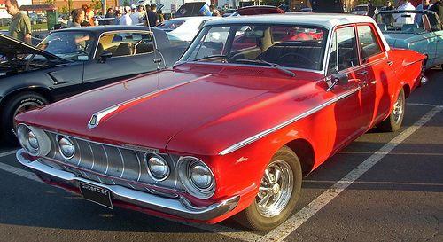 1962 Plymouth Belvedere four-door sedan