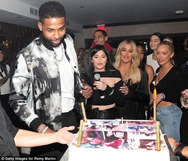 79123ff5ab3 Khloe Kardashian throws Tristan Thompson birthday bash hours ...