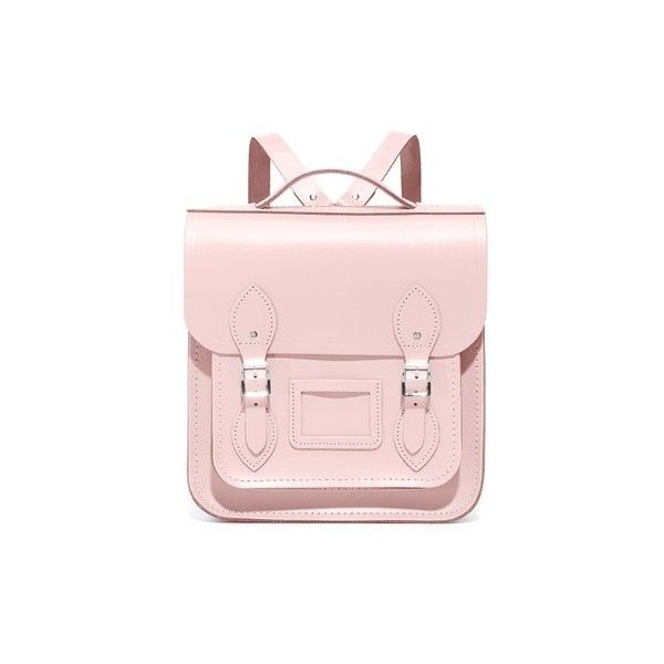 Cambridge Satchel Barrel Backpack (880 AED) ❤ liked on Polyvore featuring  bags 50e27a564f279
