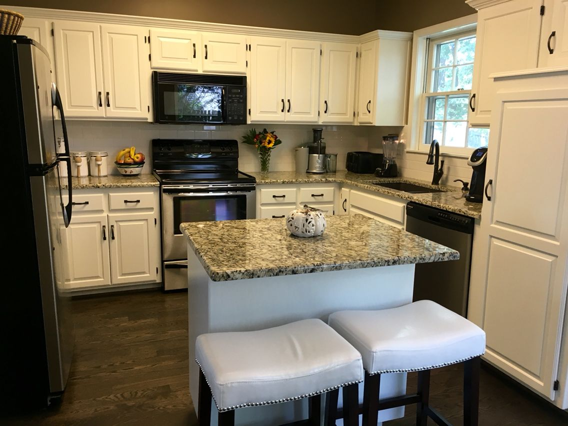 Sherwin Williams Alabaster White Cabinets Duraseal Ebony Stain On