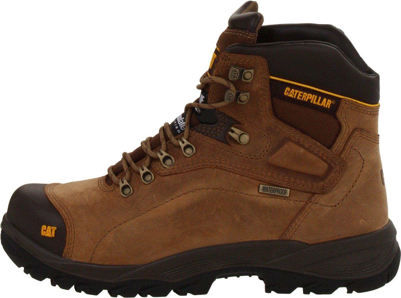 hot sale online 42f0d 46c8b Seguridad de cuero para hombre S3 impermeable Zapatos Botas De Trabajo  Puntera De Acero excursionista Tama o