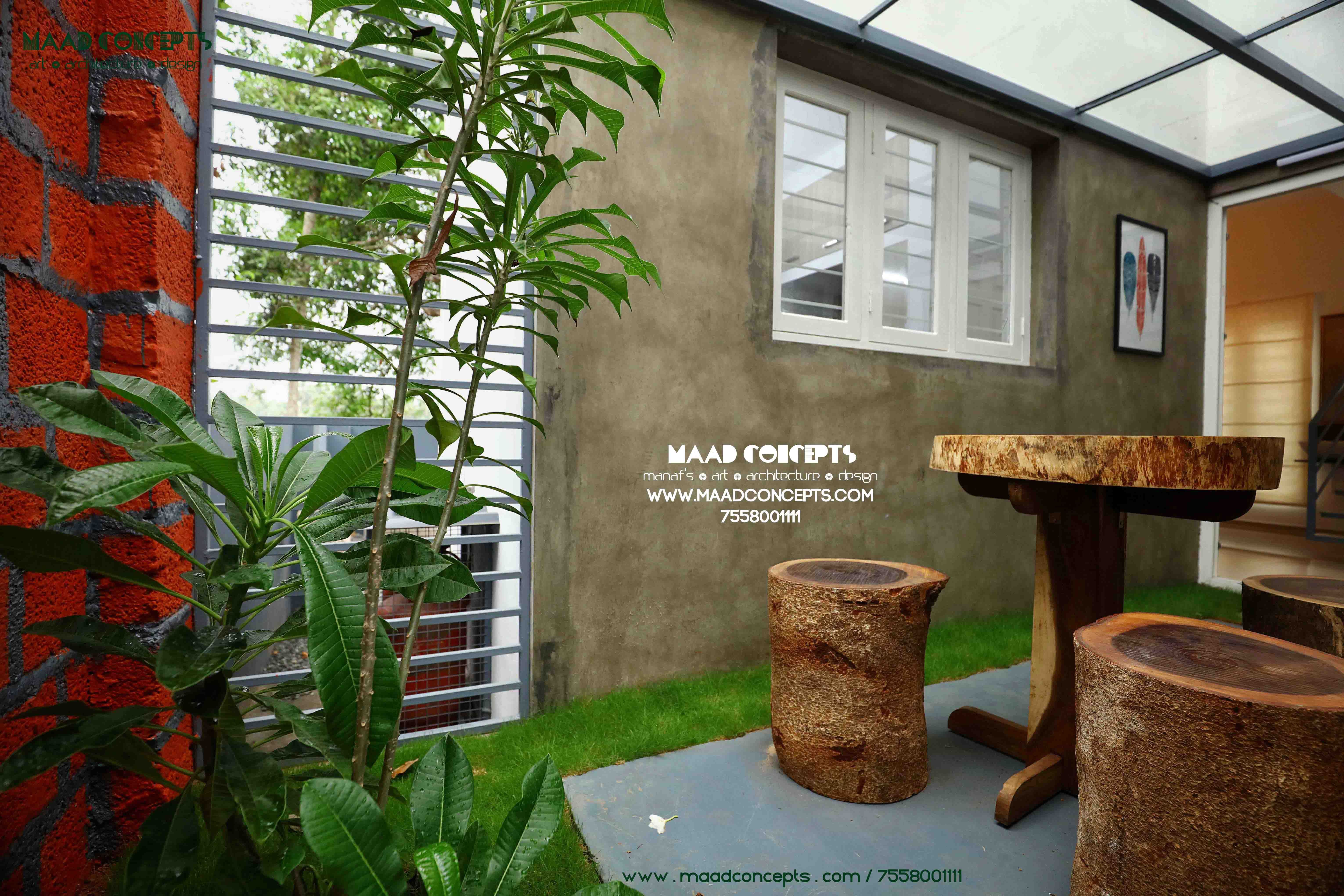 Nature friendly budget house kerala a house with courtyard in kerala