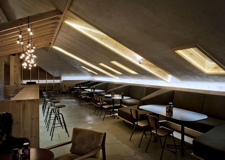 image result for low ceiling restaurant design interiority attic rh pinterest co uk