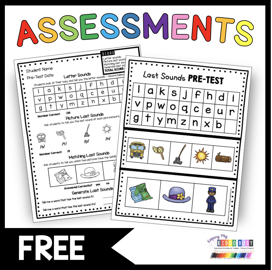 Fun Phonics Freebie For Kindergarten Worksheets And Activities And Assessments Phonics Phonics Kindergarten Phonics Freebie [ 888 x 896 Pixel ]