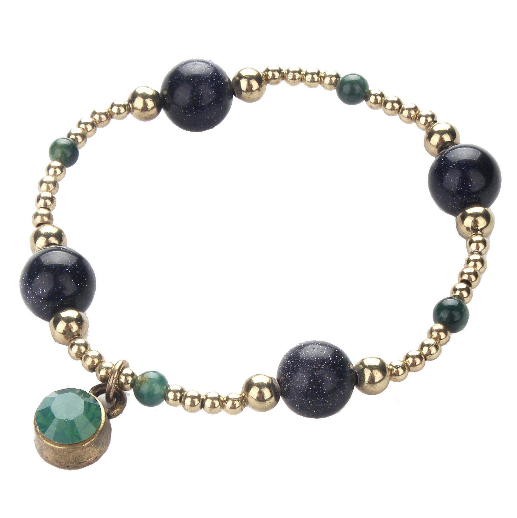 Girls novetly design k gold galaxy charm bracelets fashion jewelry