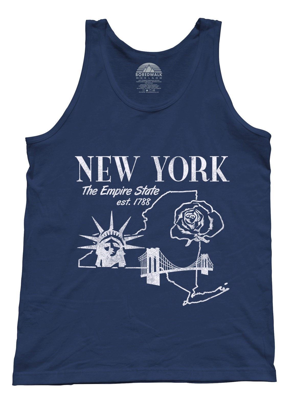 c3b7195ff7502 ... ringspun cotton - hand printed in the USA with eco-friendly water-based  inks - relaxed unisex fit -- perfect for both men and women Our unisex tank  tops ...