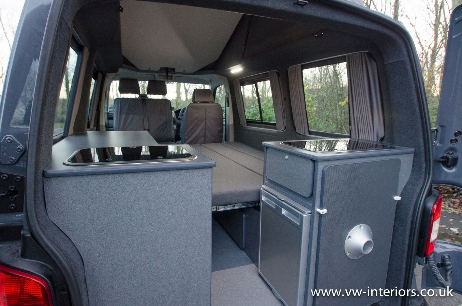 details about vw camper campervan interior vw conversion. Black Bedroom Furniture Sets. Home Design Ideas