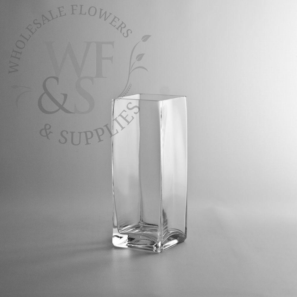 8 tall x 3 square glass block vase wg 8 inch x 3 tall glass 8 tall x 3 square glass block vase wg 8 inch x reviewsmspy