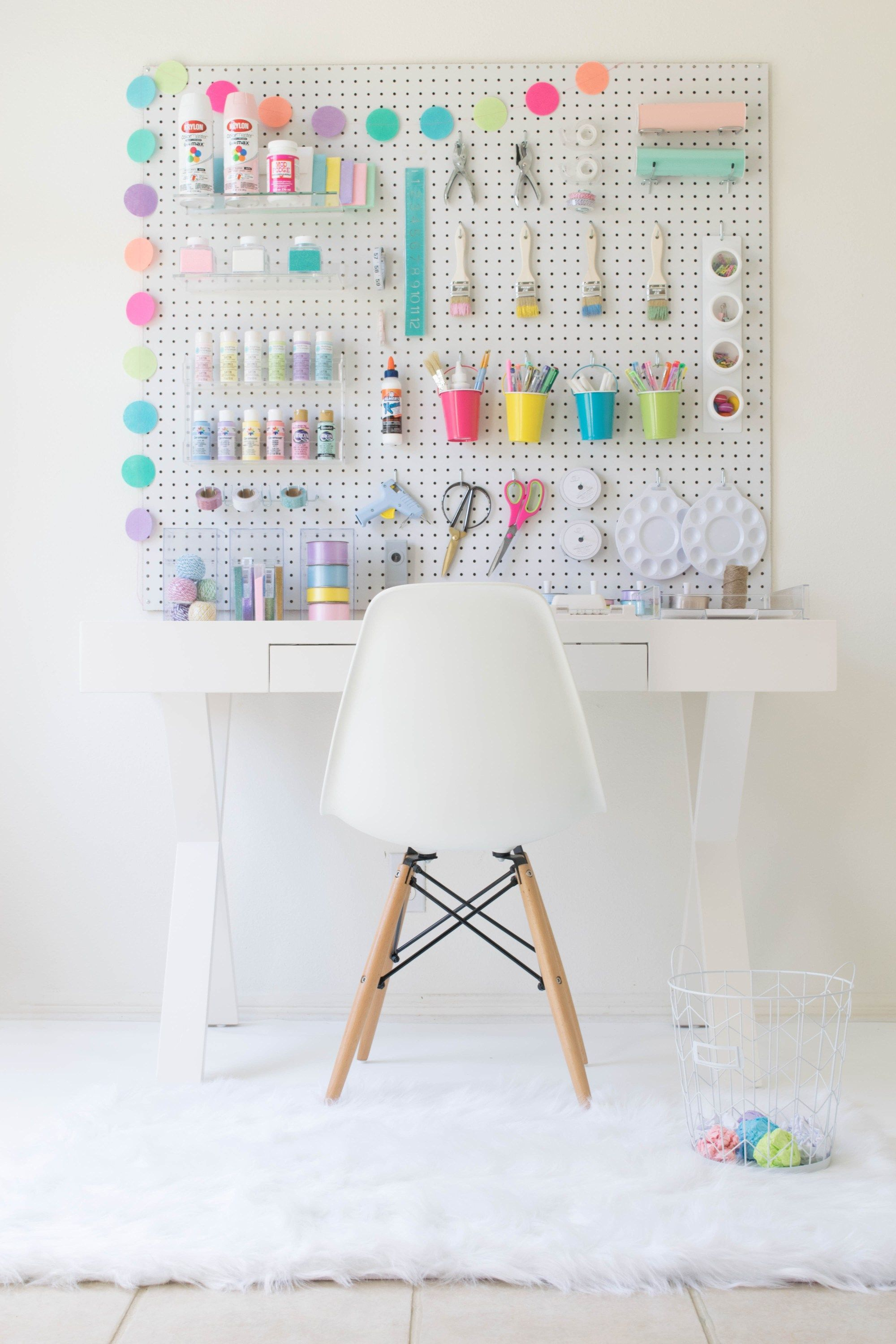 How to build your own DIY Craft Station  Décoration chambre ado