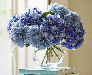 These blue hydrangea silk flowers are so voluminous that even this these blue hydrangea silk flowers are so voluminous that even this large centrepiece is made up mightylinksfo Images