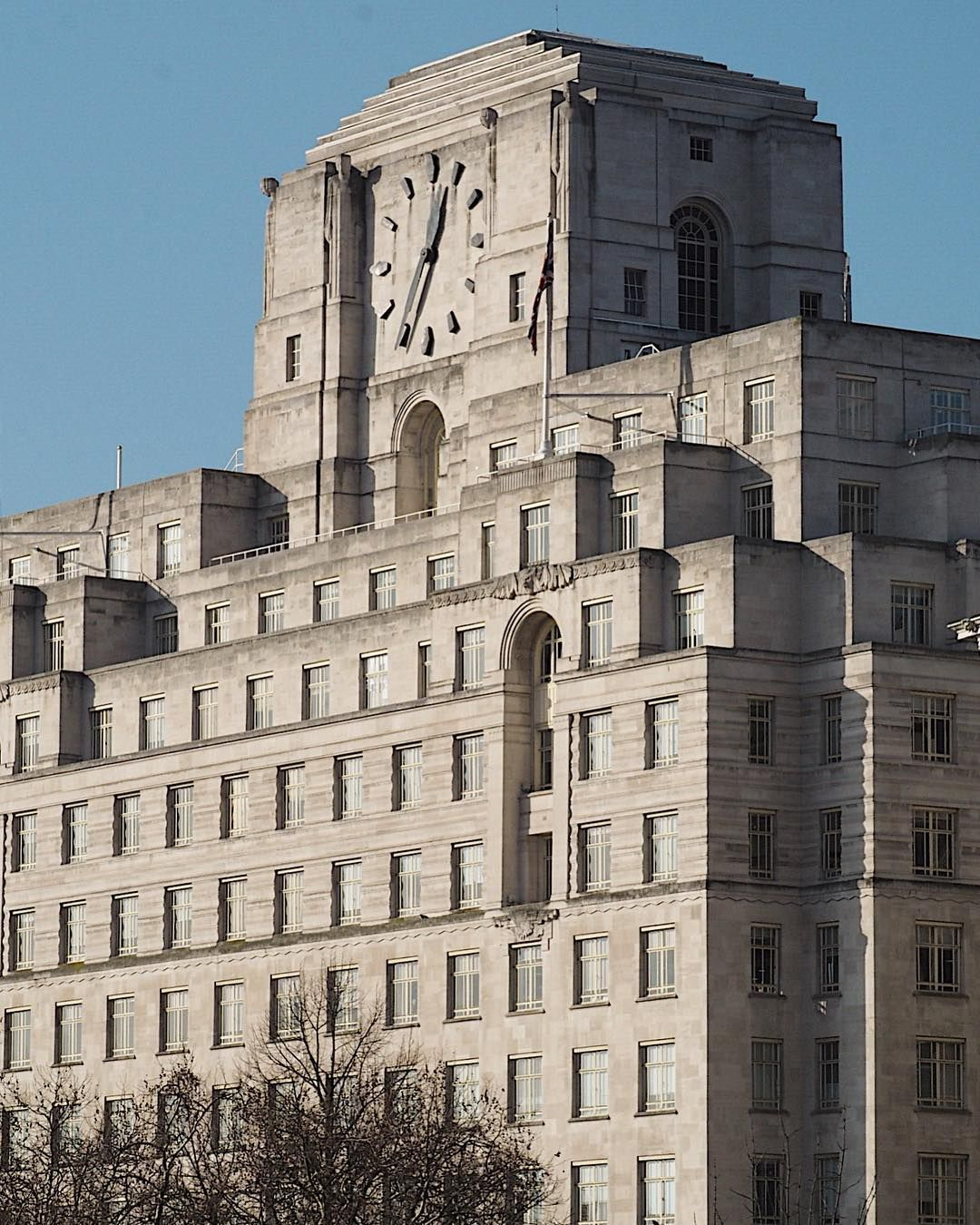 London's Biggest Clock Tower, former BP office, so it's