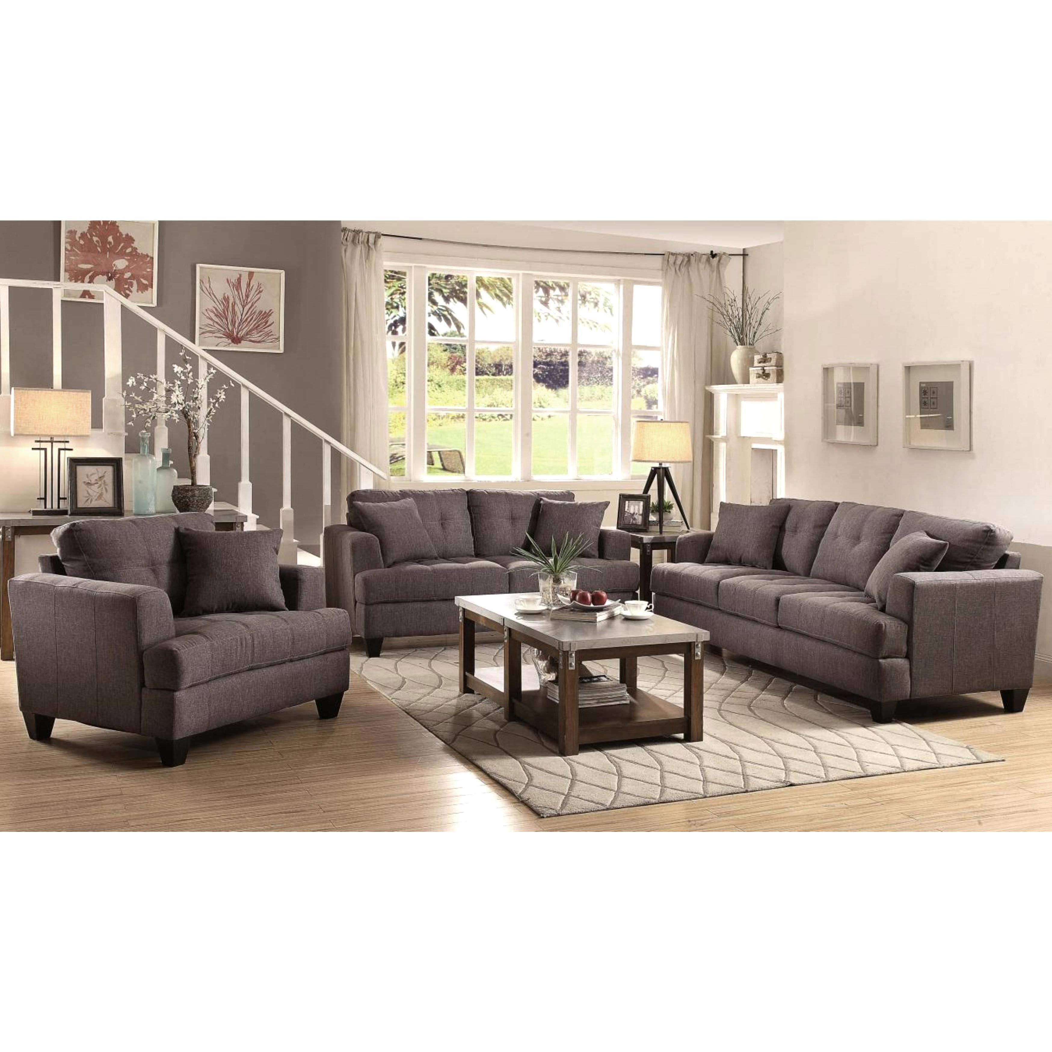 frankfurt modern tufted design living room sofa collection | hot