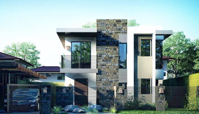 70 Square Meters To Square Feet 86 Awesome House Design For 70 Square Meters New York Spaces Magaz House Floor Plans Home Design Floor Plans Small House Design