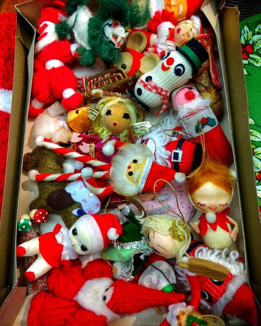 $1 each Large Selection of Vintage Ornaments. #mercantile ...