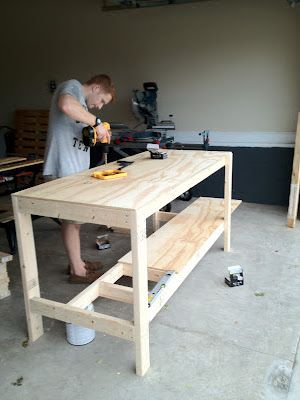 Phenomenal Ginger The Huth Diy Work Bench This In The Kitchen With Alphanode Cool Chair Designs And Ideas Alphanodeonline