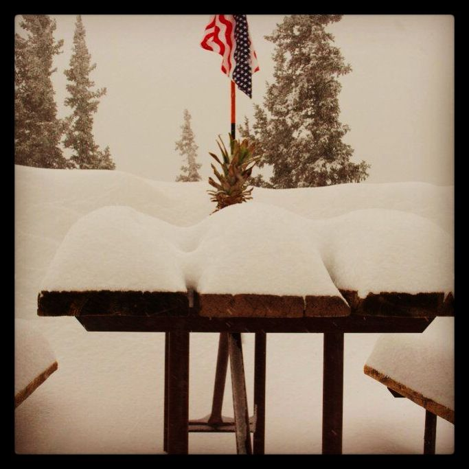 New snow measuring method at Colorado's @monarchmountain