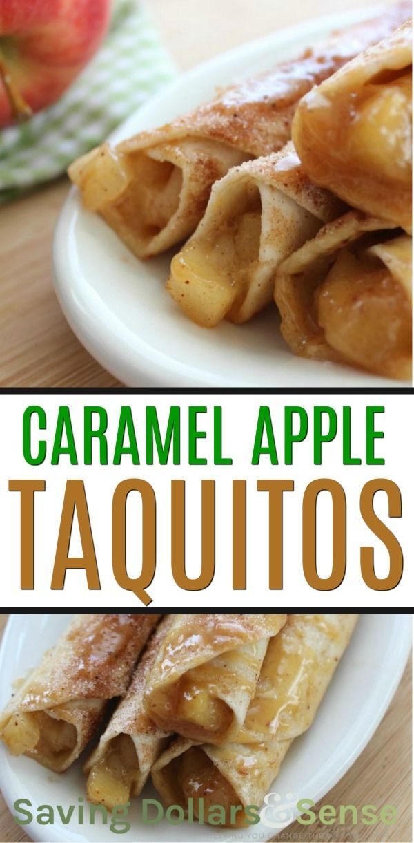 Caramel Apple Taquitos Recipe Breakfast Mexican