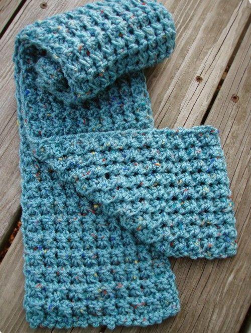 Trinity Stitch Scarf - Free Pattern (Beautiful Skills - Crochet ...