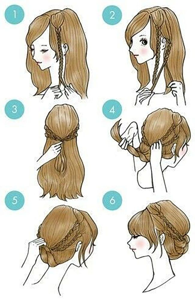 65 Easy And Cute Hairstyles That Can Be Done In Ju