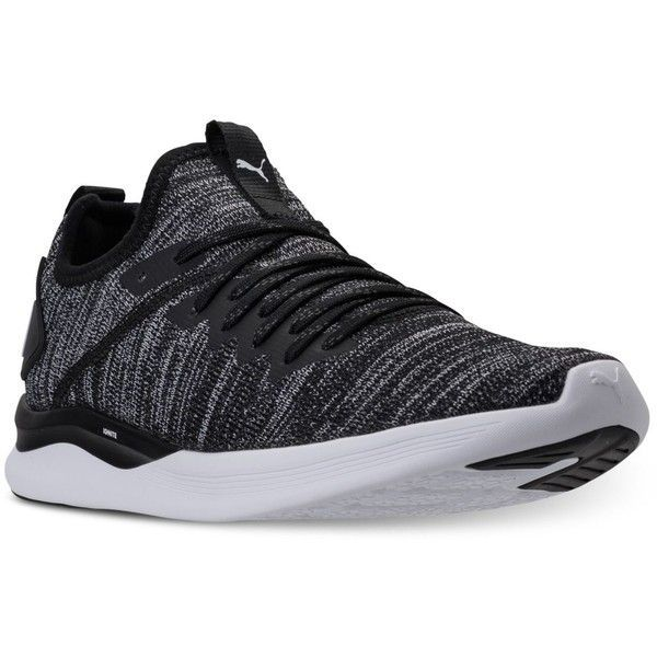 new products 998c3 2caa3 Puma Men s Ignite Flash Evoknit Casual Sneakers from Finish Line ( 80) ❤  liked on