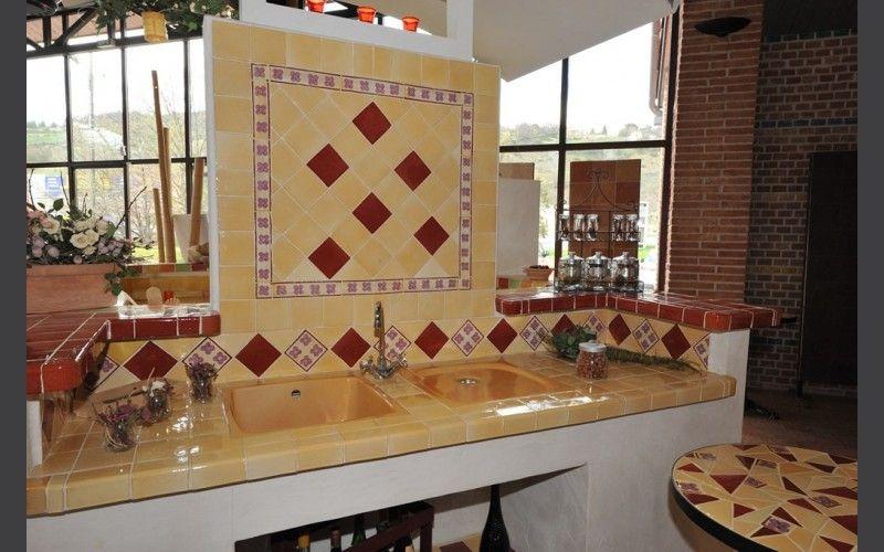carrelage faiences cuisine fabrication artisanale les. Black Bedroom Furniture Sets. Home Design Ideas
