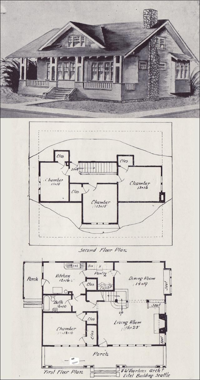 Old Time House Plans Vintage Old House Plans 1900s How to
