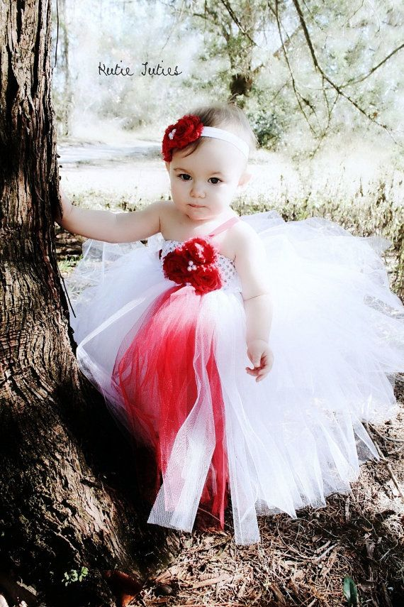 d785b64280e The Olivia Tutu Dress- White and red