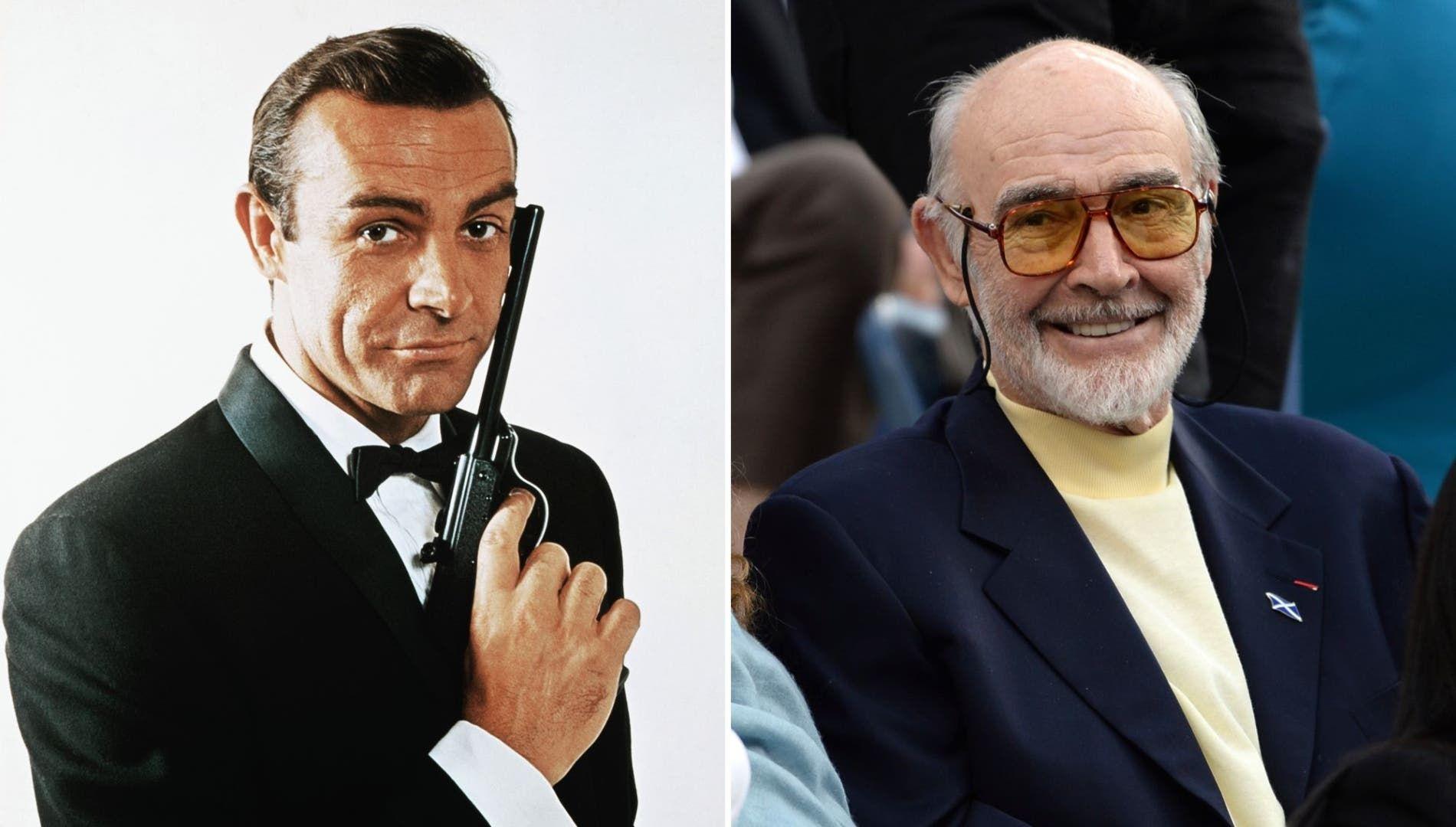 وفاة النجم شون كونري أول من قام بشخصية جيمس بوند في التاريخ Sean Connery James Bond Actors Actors