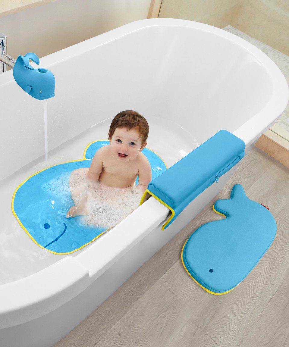 Take A Look At This Skip Hop Moby Bathtime Essentials Kit Today Baby Bath Kneeler Baby Bath Baby Bath Time