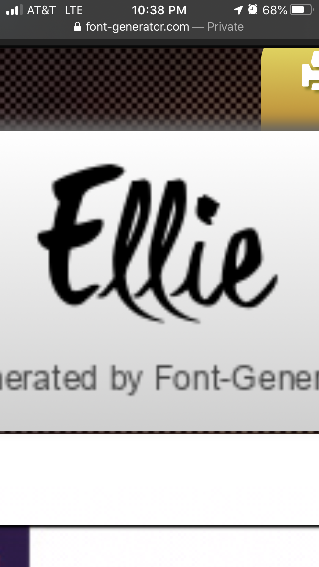 Font for Ellie tattoo in 2020 Company logo, Tech company