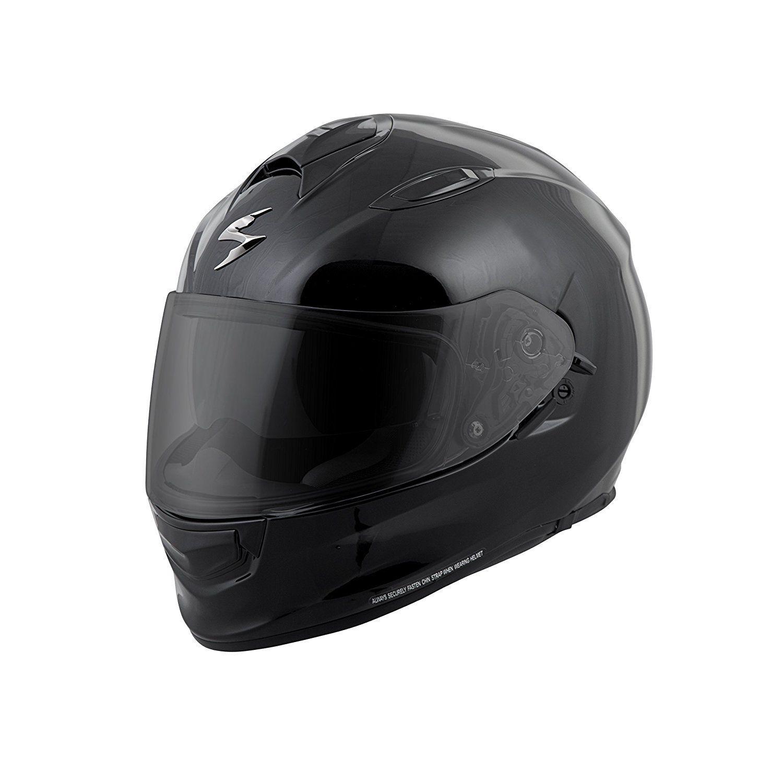 SCORPION EXO-T510 Solid Sport Touring Motorcycle Helmet Black Size XLARGE