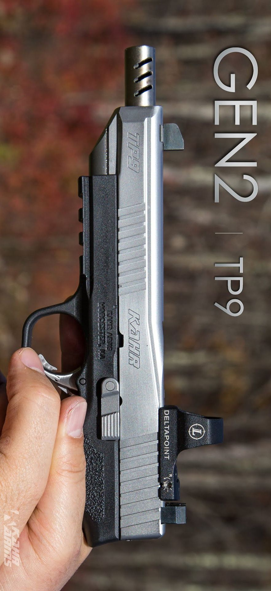 KAHR ARMS - TP45 GEN2 6IN 45 ACP Handgun Semi Auto Pistol Firearm