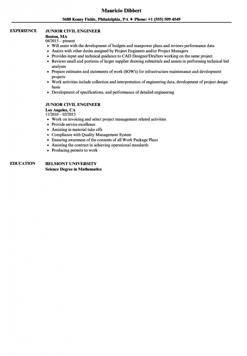 14 civil site engineer resume 14 civil site engineer