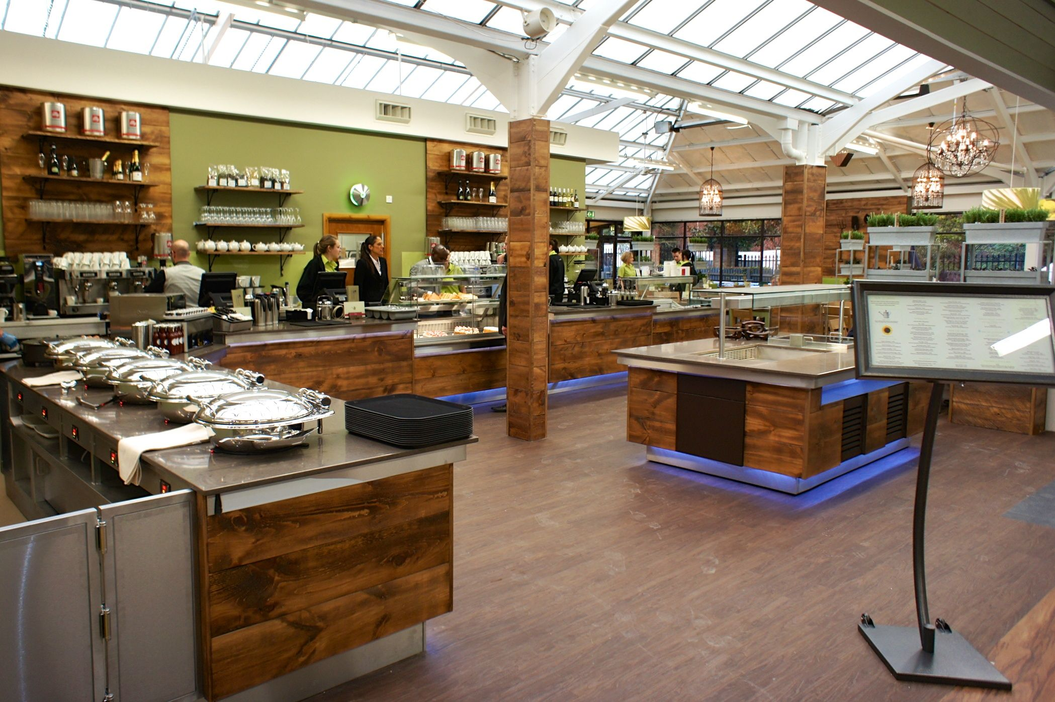 ifse redesigned the catering facilities at squires in twickenham