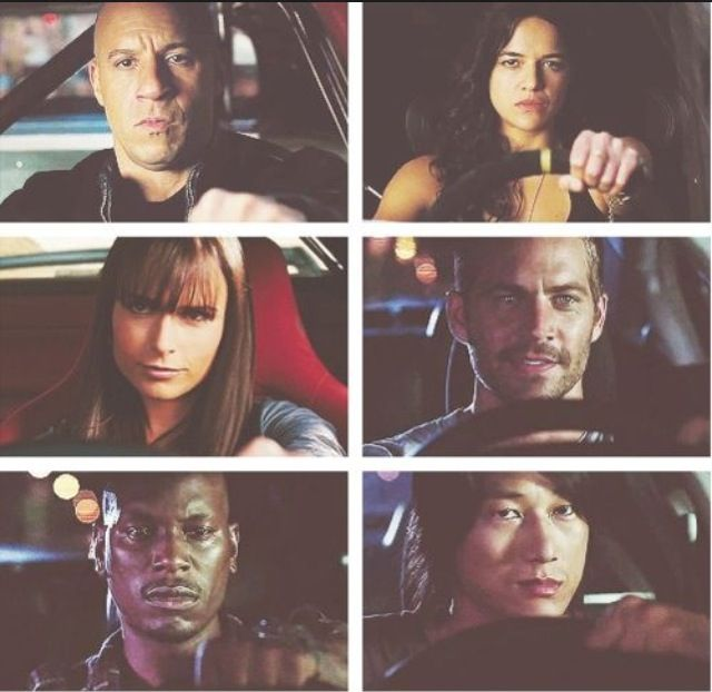 Fast and furious best of the cast...except they forgot Gisele...she grew on me :)... and Tej