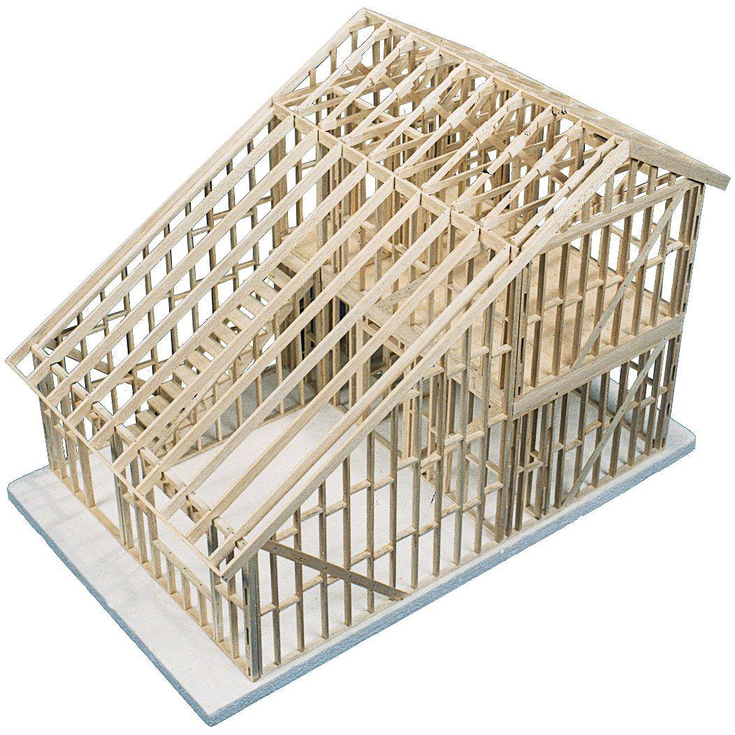 Story Townhouse Kit Model House Kits A Frame Cabin Cabin Kits