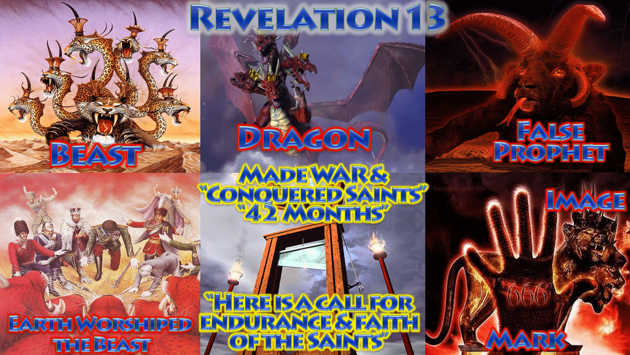 Beast, Image & Mark - Book of Revelation Chapter 13 ...