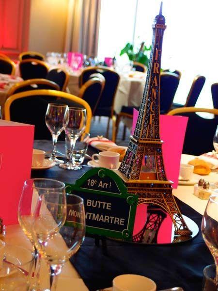 decoration-mariage-theme-paris | Sweet 16 | Pinterest | Mariage ...