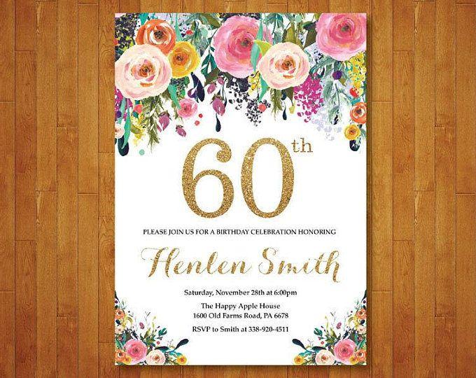Sorpresa 50 Cumpleaños Invitación Para Las Mujeres