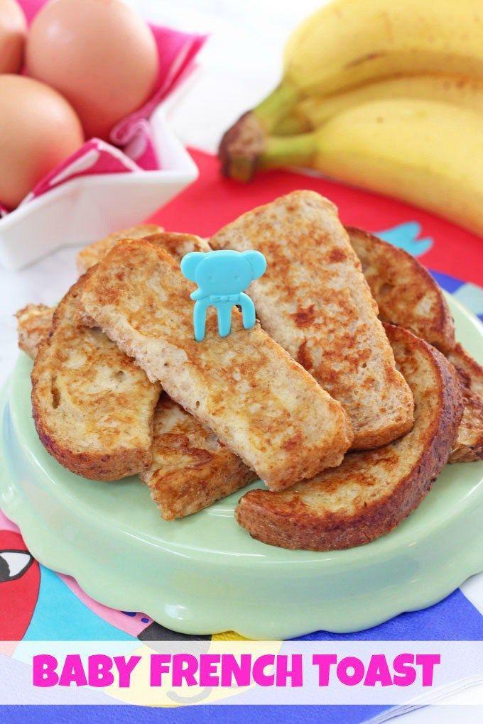 Baby French Toast ( Eggy Banana Bread ) | Recipe (With ...