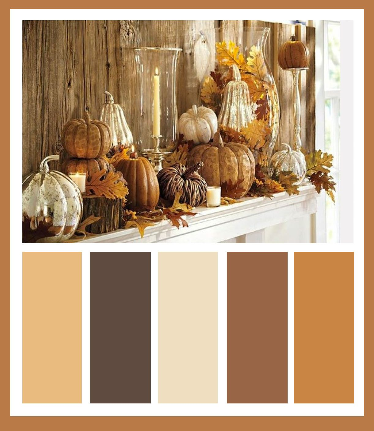 Calming Colors That Will Perfect Your Home: The Perfect Color Scheme For Updating A Home For Fall
