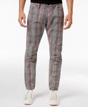 G Star Raw Men's Slim Fit Elwood X25 Prince of Wales Check