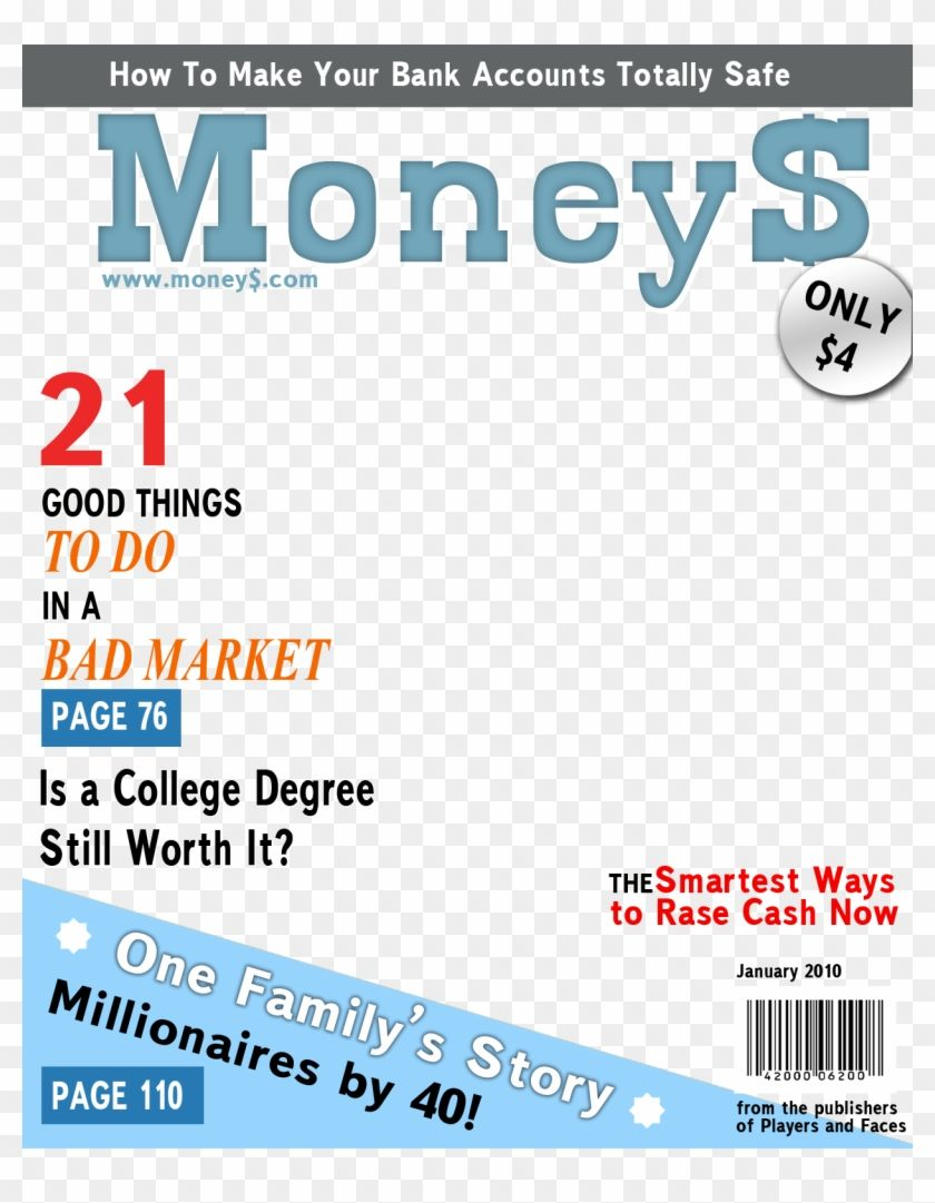 Find Hd Fake Magazine Cover Templates People Magazine Cover Template Transparent Hd Png Download Magazine Cover Template Play Money Template Money Template