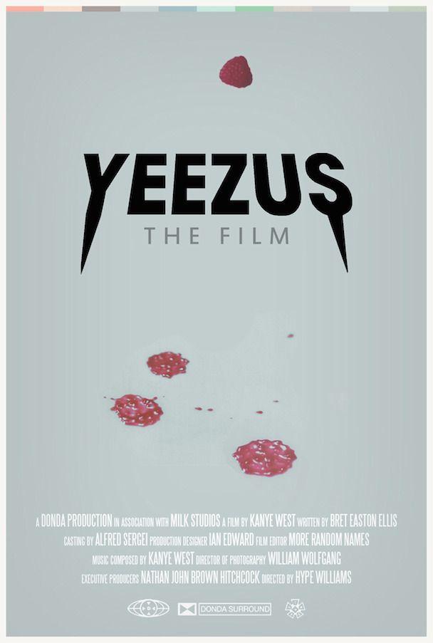 Yeezus The Film Yeezus Heartbreak Songs Kanye West Movie
